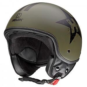 헤빅 그린스타 하프페이스 헬멧 -HHV9FGRST