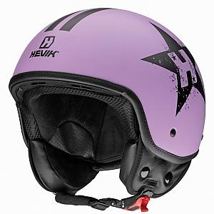 헤빅 퍼플스타 하프페이스 헬멧 -  HHV9FPLST